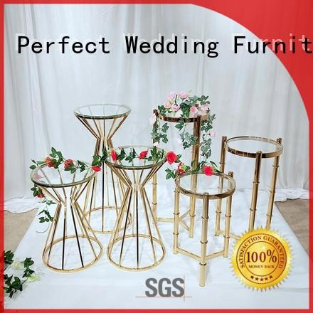 high quality flower stands for wedding aisle manufacturer for hotel