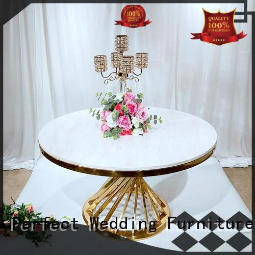 durable wedding table round with contemporary manufacturing series for wedding ceremony