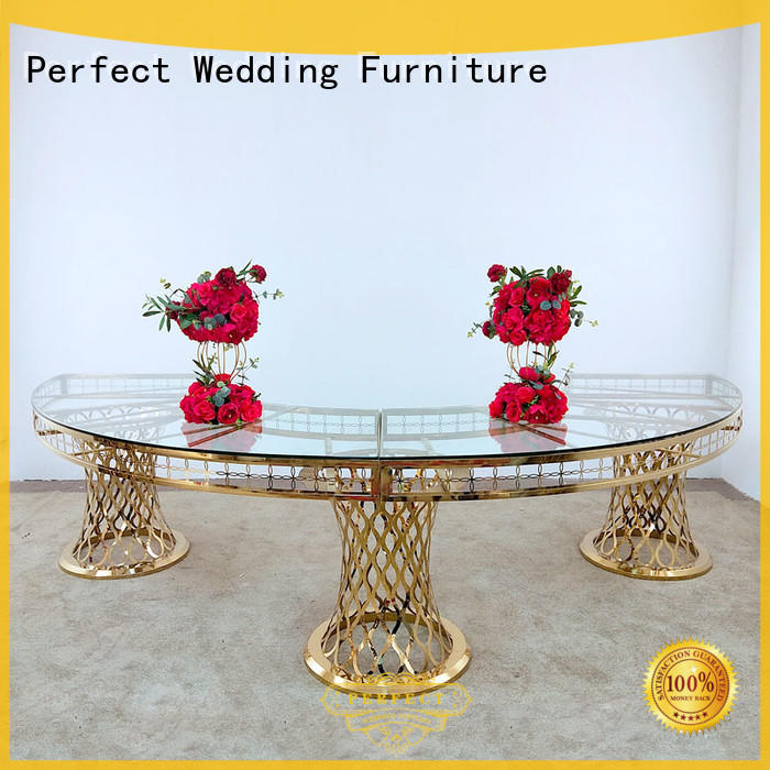 Perfect Wedding Furniture big wedding party table company for wedding ceremony