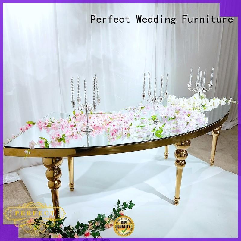 Perfect Wedding Furniture big wedding banquet tables with contemporary manufacturing series for hotel
