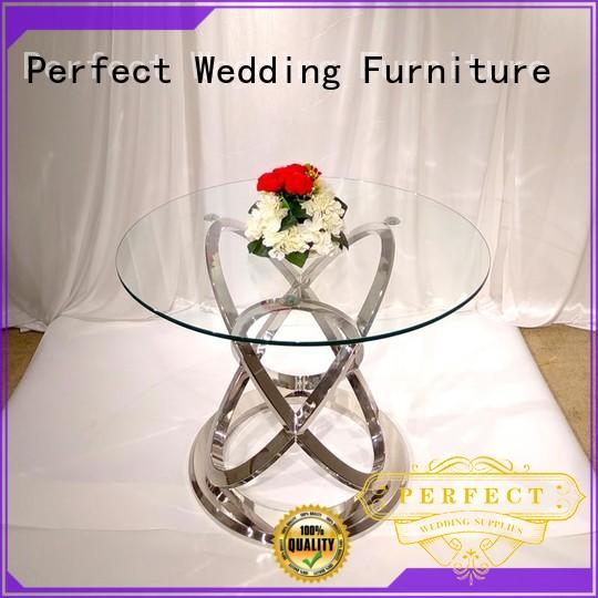 steel wedding accessories table big for wedding ceremony Perfect Wedding Furniture