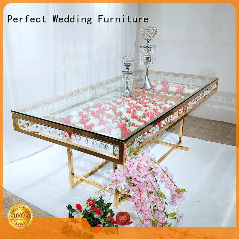 Perfect Wedding Furniture Custom round wedding tables Supply for hotel
