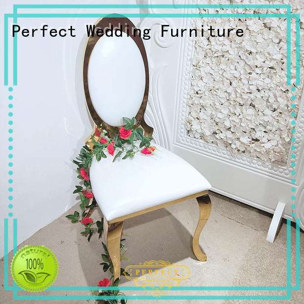 Perfect Wedding Furniture laser chair for wedding factory for wedding ceremony