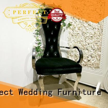durable king throne chair stainless supplier for wedding ceremony