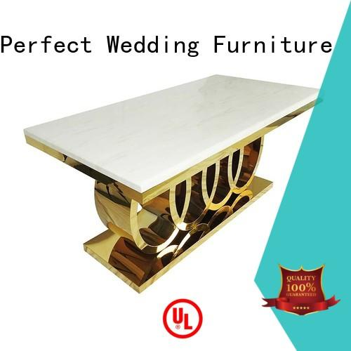 Perfect Wedding Furniture customized wedding dinner table white for hotel