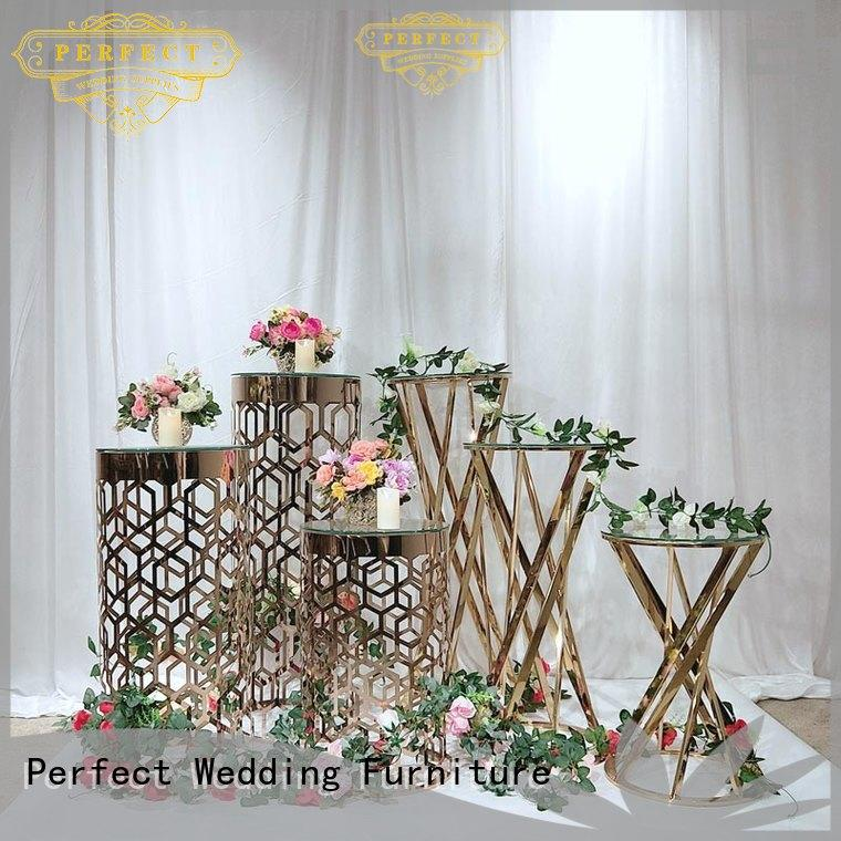 Perfect Wedding Furniture Best wedding flower stand factory for home
