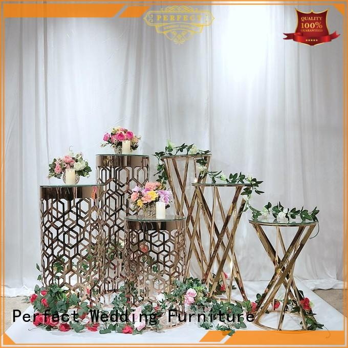 decorative floral stand stand supplier for hotel
