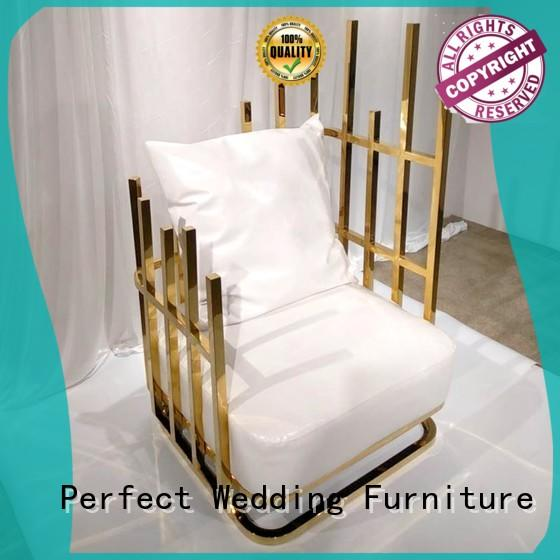 Perfect Wedding Furniture nice queen throne chair supplier for hotel