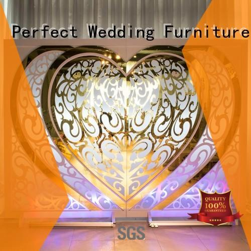Perfect Wedding Furniture Brand inside sliver pvc custom wedding screen dividers