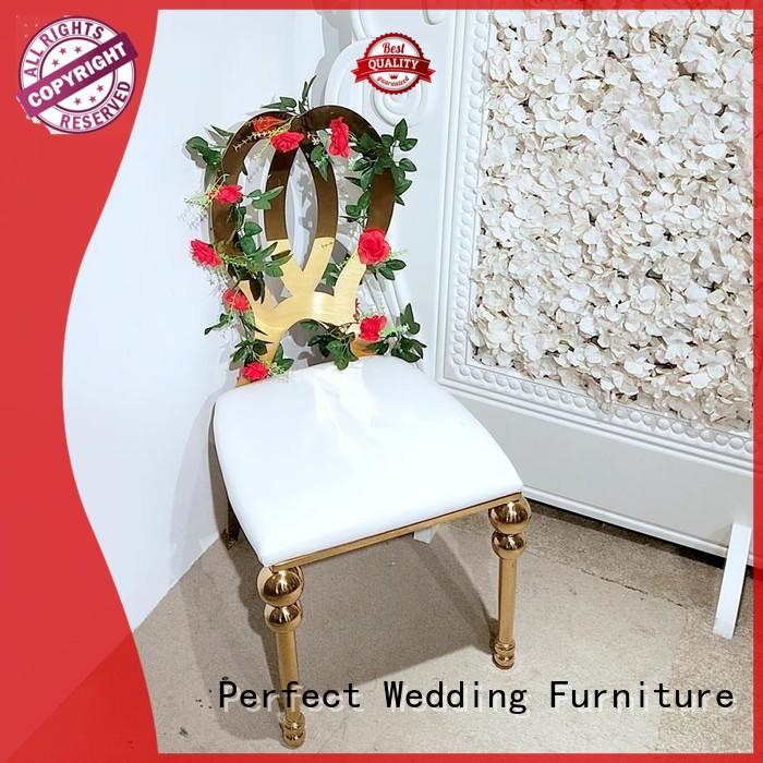 Perfect Wedding Furniture laser wedding reception chairs to meet your needs for hotel