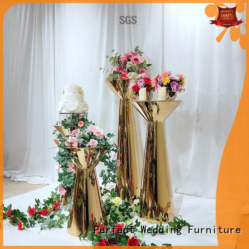 high quality floral stand wholesale for wedding ceremony