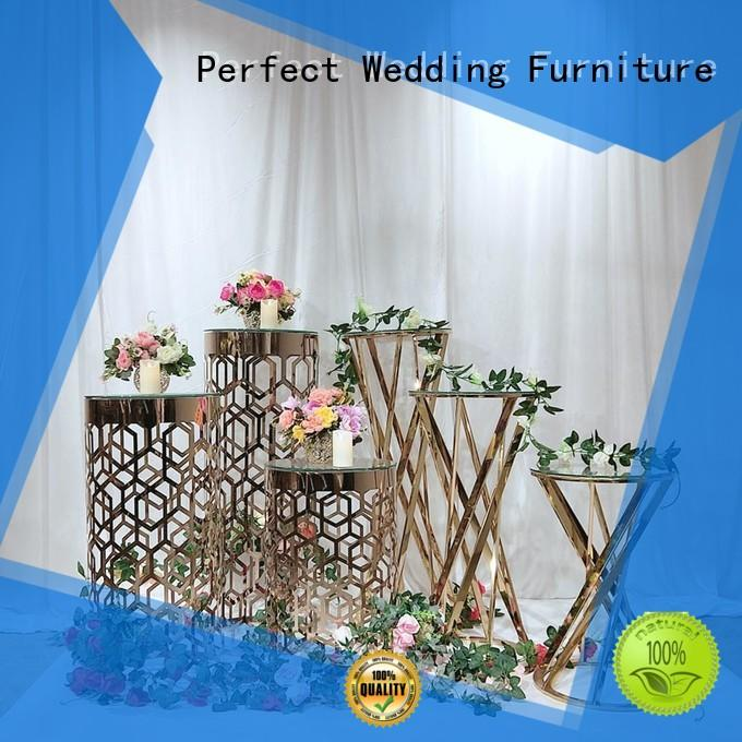 Perfect Wedding Furniture steel flower stands for wedding aisle wholesale for wedding ceremony