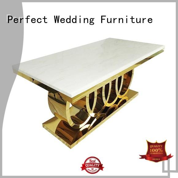 durable wedding table pvc wholesale for dining room