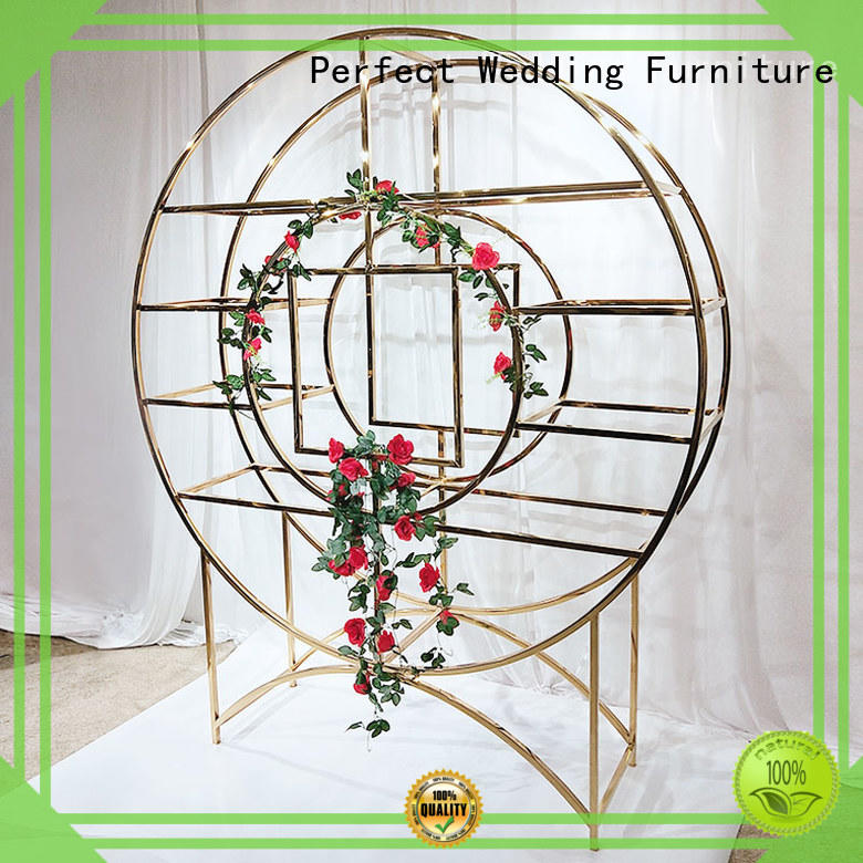 Perfect Wedding Furniture high quality decorative shelving units manufacturer for hotel