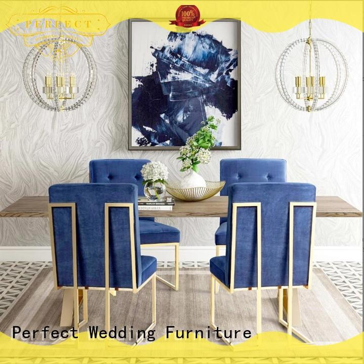 Perfect Wedding Furniture color king and queen chairs supplier for wedding ceremony