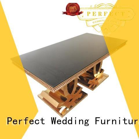Perfect Wedding Furniture Custom wedding reception table company for hotel