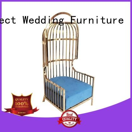 Perfect Wedding Furniture high quality queen chair manufacturer for wedding ceremony