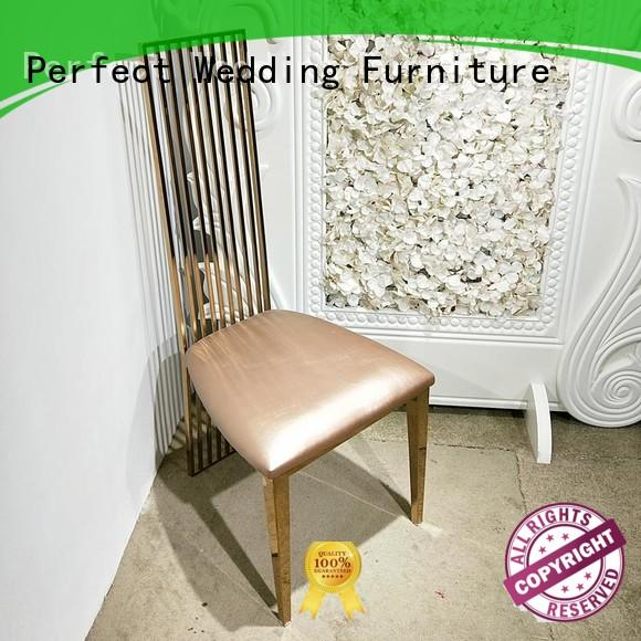 Perfect Wedding Furniture stainless steel wedding ceremony chairs stainless for wedding ceremony