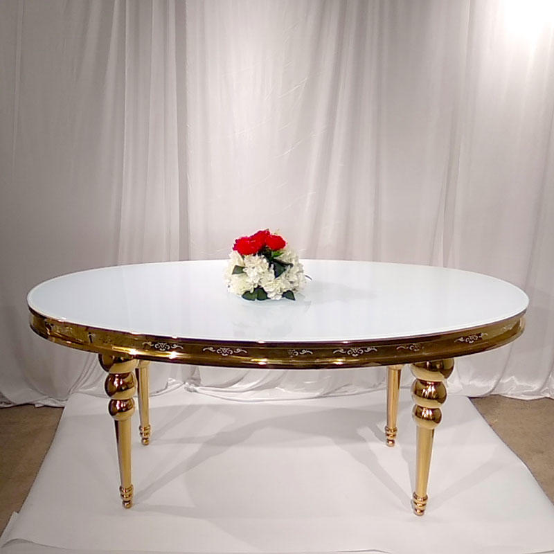 Perfect Wedding Furniture marble round wedding tables Suppliers for wedding ceremony-1