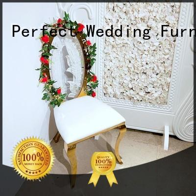 durable wedding reception chairs steel supplier for wedding ceremony