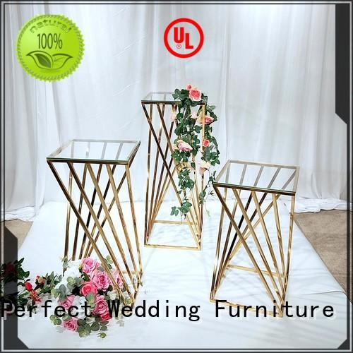 Perfect Wedding Furniture steel wedding flower stand to meet your needs for wedding ceremony