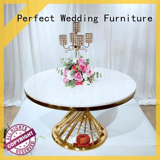 Perfect Wedding Furniture high quality wedding party table in various sizes for hotel
