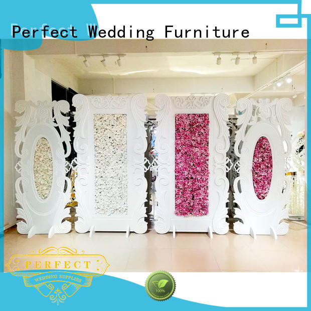 Perfect Wedding Furniture white wedding screen partition factory for hotel