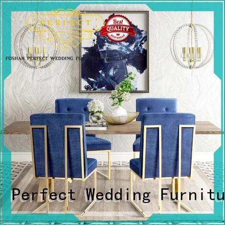 Perfect Wedding Furniture Brand relaxing steel throne style chairs manufacture