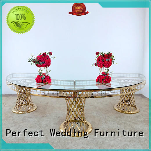 Perfect Wedding Furniture simple wedding display table in various sizes for dining room