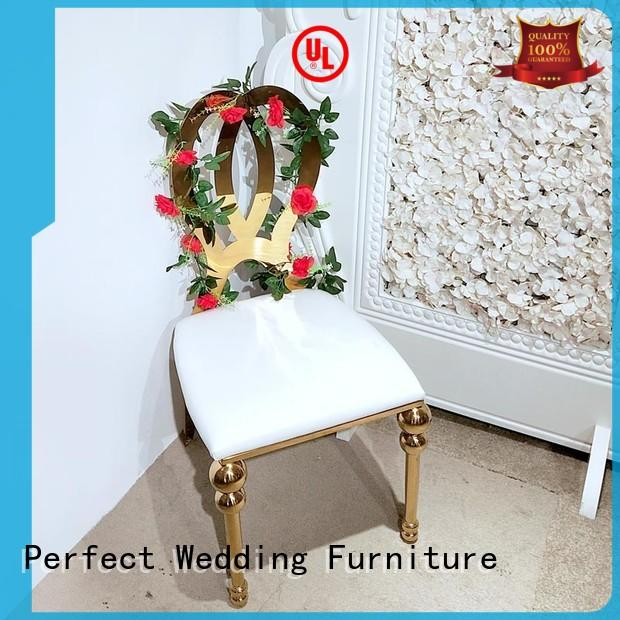 Perfect Wedding Furniture steel bridal chair in the waiting areas for wedding ceremony