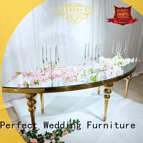 Perfect Wedding Furniture high quality top table wedding in various sizes for wedding ceremony