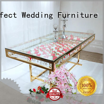 High-quality wedding party table steel Suppliers for hotel