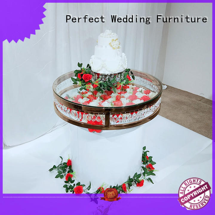 customized top table wedding glass manufacturer for hotel