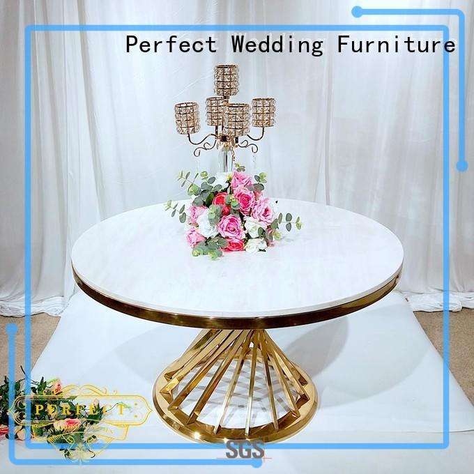 wedding table dressing half for hotel Perfect Wedding Furniture