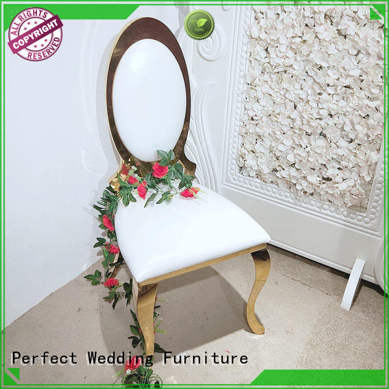 Perfect Wedding Furniture stainless wedding reception chairs in the waiting areas for hotel