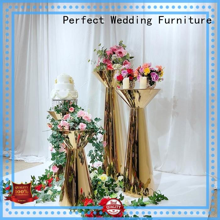 durable wedding flower stand steel to meet your needs for wedding ceremony