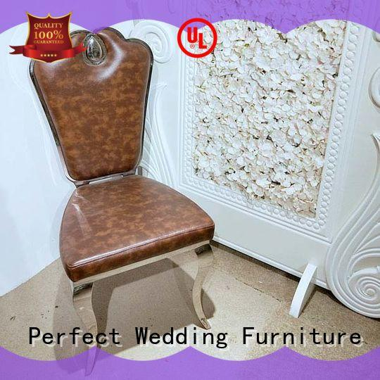 Perfect Wedding Furniture stainless steel bridal chair to meet your needs for hotel