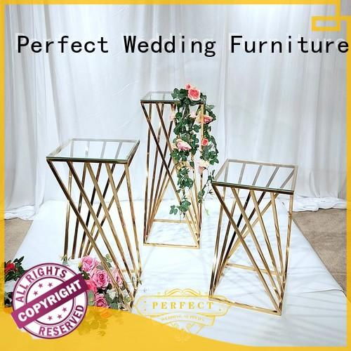Perfect Wedding Furniture Custom flower stands for wedding aisle manufacturers for home