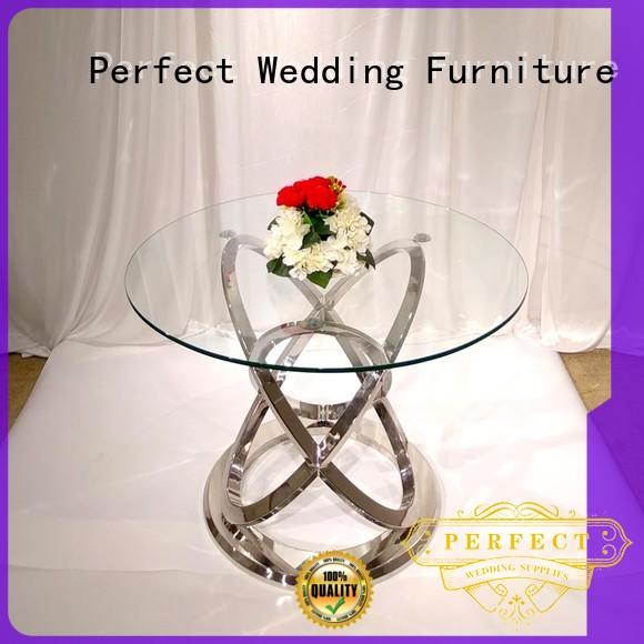 Perfect Wedding Furniture customized top table wedding in various shapes for hotel