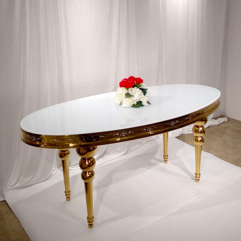 Perfect Wedding Furniture marble round wedding tables Suppliers for wedding ceremony-2