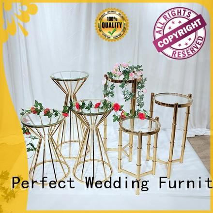 Perfect Wedding Furniture color metal flower stand series for home