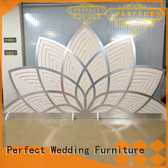 high quality decorative room dividers white supplier for wedding ceremony