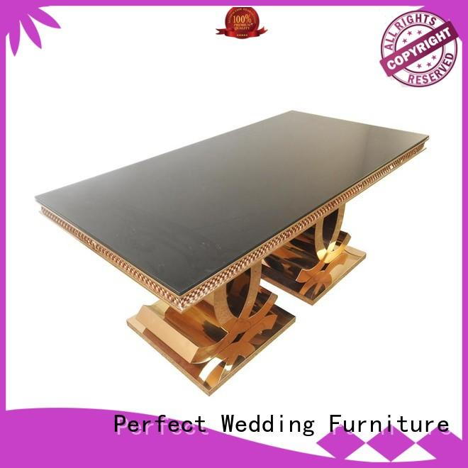 customized wedding top table ideas stainless supplier for wedding ceremony
