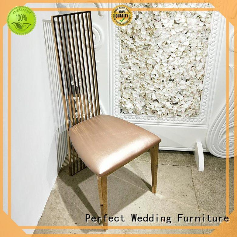 Perfect Wedding Furniture high quality wedding chairs for bride and groom wedding for wedding ceremony