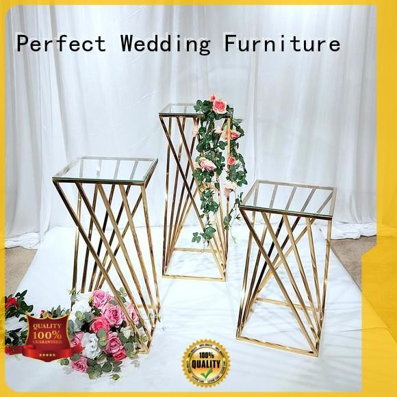 Perfect Wedding Furniture glass tall floral stand with contemporary manufacturing equipment for home