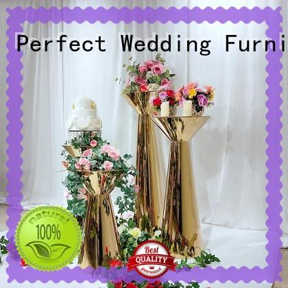 Perfect Wedding Furniture steel wedding flower stand to meet your needs for hotel
