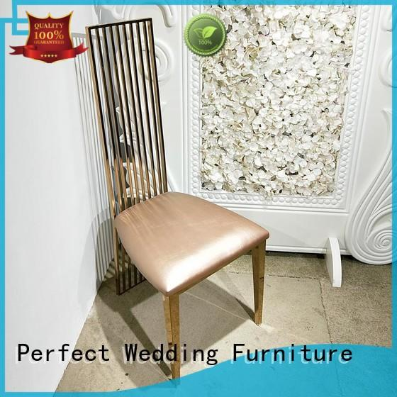 Perfect Wedding Furniture stainless steel chair for wedding series for wedding ceremony