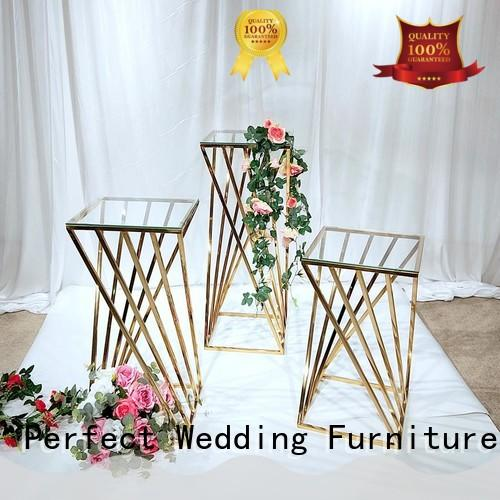 decorative metal flower stand for weddings to accommodate for wedding ceremony Perfect Wedding Furniture