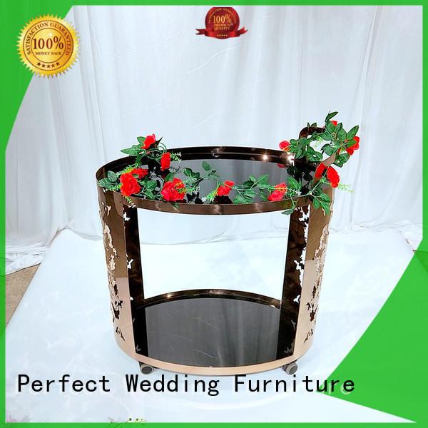 Perfect Wedding Furniture trolley trolley bar cart wholesale for wedding ceremony