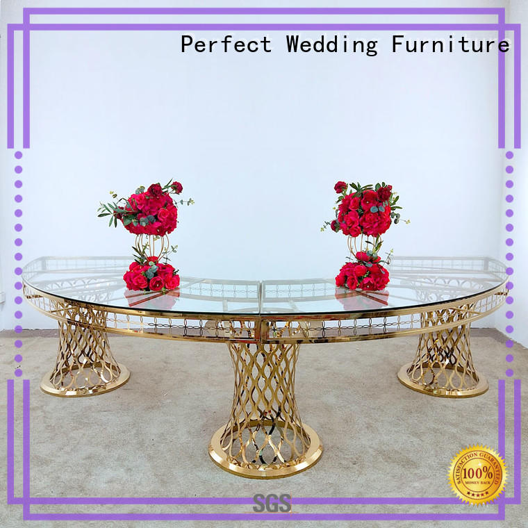 Perfect Wedding Furniture simple wedding accessories table white for wedding ceremony
